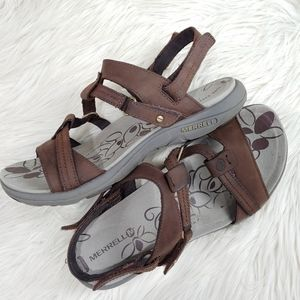 MERRELL LEATHER SANDAL